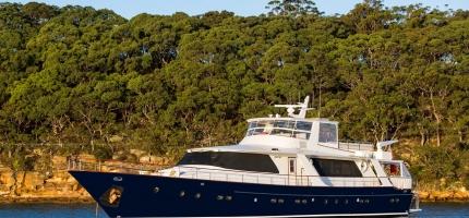 Super Yacht HIILANI in Sydney 07/06/2018 ph. Andrea Francolini