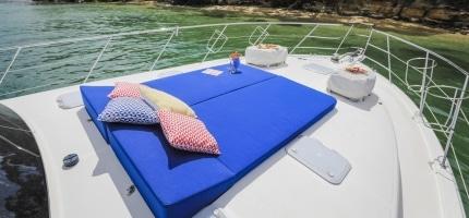 Motor Yacht Charters Sydney © Salty Dingo 2018