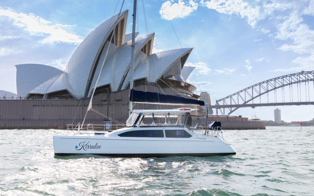 KIRRALEE – 35′ Seawind Catamaran