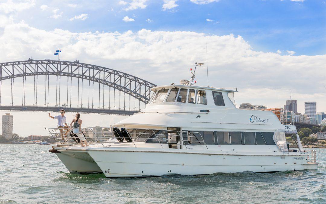 FLEETWING II – 53' Motor Catamaran
